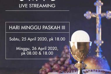 Live Streaming Minggu Paskah 3